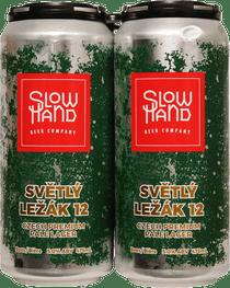 Slow Hand Beer Co. Svetly Lezak Czech Lager 4 Pack 473ml