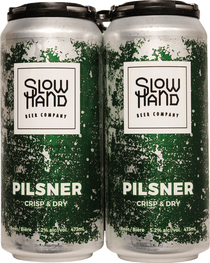 Slow Hand Beer Co. Pilsner 4 Pack 473ml