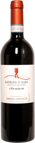 "Abrigo Giovanni 2018 Barbera d'Alba ""Marminela"" 750ml"