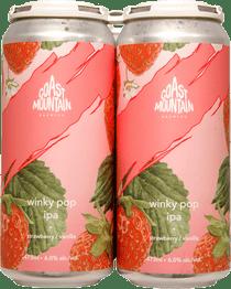 Coast Mountain Winky Pop IPA 4 Pack 473ml