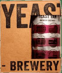 Yeast Van Brewery Collective Raspberry Rosé 4 Pack 473ml