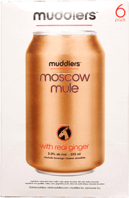 Muddlers Moscow Mule 6 x 355ml