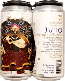 House of Funk Juno Dry-Hopped Sour 4 Pack 473ml