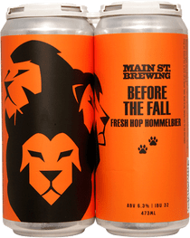 Main St. Before The Fall Hommelbier Fresh Hop 4 Pack 473ml