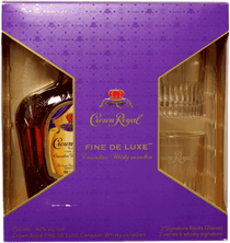 Crown Royal 2 Glass Gift Pack 750ml