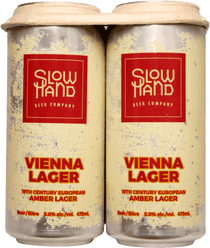 Slow Hand Beer Co. Vienna Lager 4 Pack 473ml