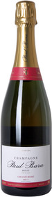 Champagne Paul Bara Rose Grand Bouzy 750ml