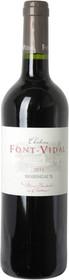 Chateau Font Vidal 2014 Classique Rouge 750ml