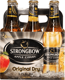 Bulmer-Strongbow Cider 6 Pk 330ml