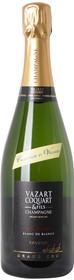 Champagne Vazart Coquart Brut Reserve NV Grand Cru 750ml