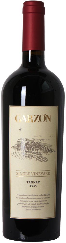 Vinho garzon tannat single vineyard