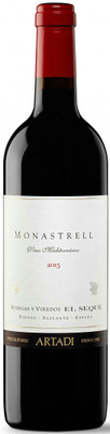 Bodegas Artadi 2015 Monastrell Vino Mediterraneo 750ml