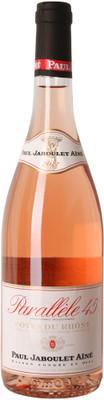 Jaboulet 2017 Cotes du Rhone Rose Parallel 45 750ml