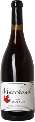 "Marchand 2013 Pinot Noir ""Falcon Glen Vineyard"" 750ml"