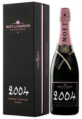 Moet & Chandon 2004 Grand Vintage Rose 750ml