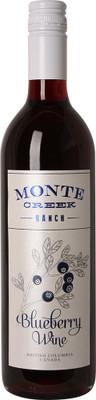 Monte Creek Ranch Winery Blueberry Wine 750ml