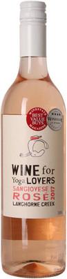 Wine for Yoga Lovers 2017 Sangiovese Rose 750ml
