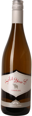 Elephant Island 2016 Told You So Viognier 750ml