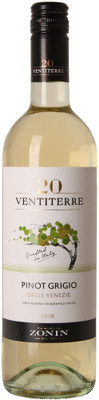 Zonin 2016 Ventiterre Pinot Grigio 750ml