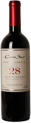 Cono Sur 2016 Single Vineyard Carmenere 750ml