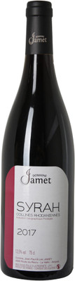 Jamet 2017 Collines Rhodaniennes Syrah IGP 750ml