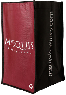 Marquis 4 Bottle Reusable Wine Bag