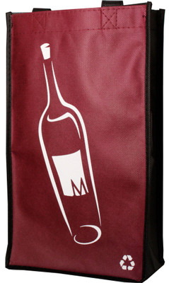 Marquis 2 Bottle Reusable Wine Bag