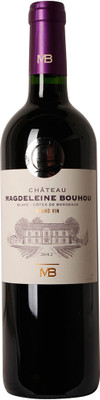 Chateau Magdeleine Bouhou 2012 Blaye Cotes de Bordeaux 750ml