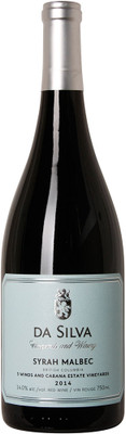 Da Silva Vineyards 2014 Syrah/Malbec 750ml