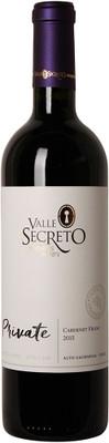 Valle Secreto 2015 Cabernet Franc Private 750ml