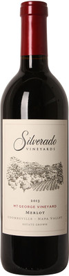 Silverado Vineyards 2013 Mt. George Merlot 750ml