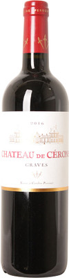 Chateau Cerons 2016 Graves Rouge 750ml