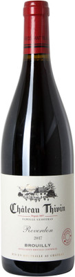 """Chateau Thivin 2017 Brouilly """"Reverdon"""" 750ml"""