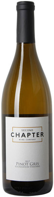 Second Chapter 2017 Pinot Gris 750ml
