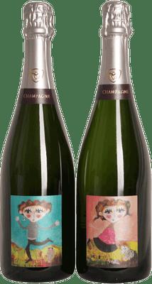 "Champagne Marc Chauvet 2010 ""Cuvee Duo Brut"" 750ml"