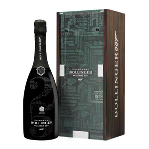 Champagne Bollinger 2011 Bond Limited Edition Bond Gift Pack 750ml