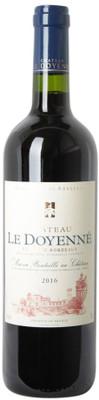 Château Le Doyenne 2016 Cotes de Bordeaux 750ml