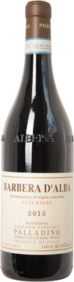 Palladino 2016 Barbera d'Alba Superiore 750ml
