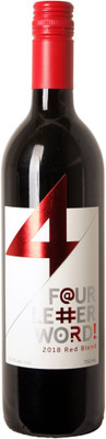 Four Letter Word 2018 Red 750ml