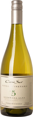 Cono Sur 2017 Single Vineyard Quebrada Alta Chardonnay 750ml