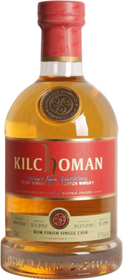 Kilchoman Rum Finish Single Cask 700ml