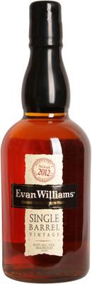 Evan William Single Barrel Vintage Bourbon 750ml