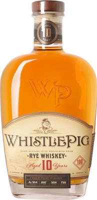 WhistlePig 10 Year Old Rye 750ml