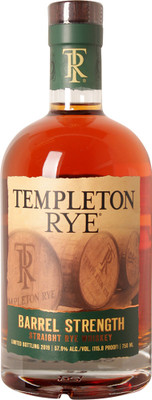 Templeton Barrel Strength Rye 750ml