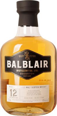 Balblair 12 Year Old 750ml