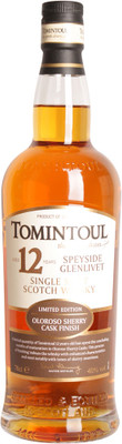 Tomintoul 12 Year Old Sherry Finish 700ml