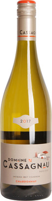 Domaine de Cassagnau 2017 Chardonnay 750ml