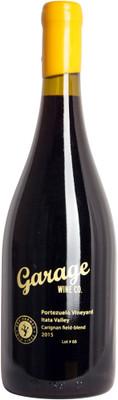 """Garage Wine Co 2015 """"Portezuelo Vineyard"""" Carignan Field Blend Lot#68 750ml"""