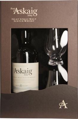 Port Askaig 8 Year Old Islay Single Malt Gift Set 750ml