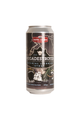 Howe Sound Megadestroyer Imperial Licorice Stout 473ml